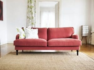 English Roll Arm or Club Sofa